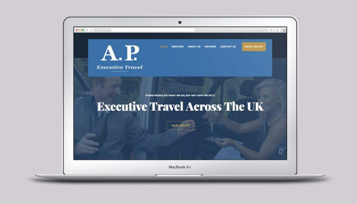 AP Executive Travel - Home - Wordpress design