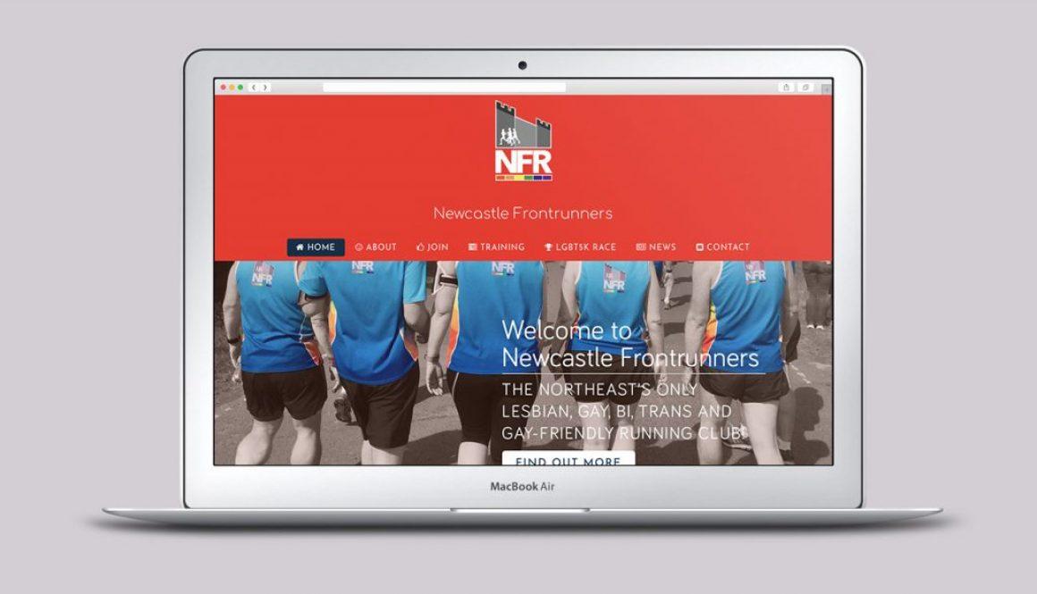 Newcastle Frontrunners Website