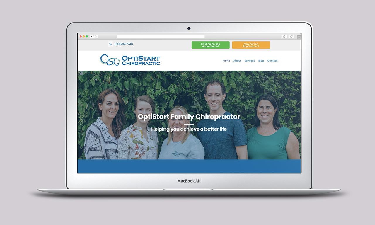 OptiStart Homepage