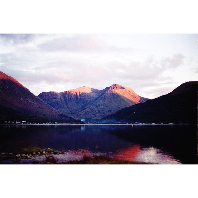 Mountain in Scotland