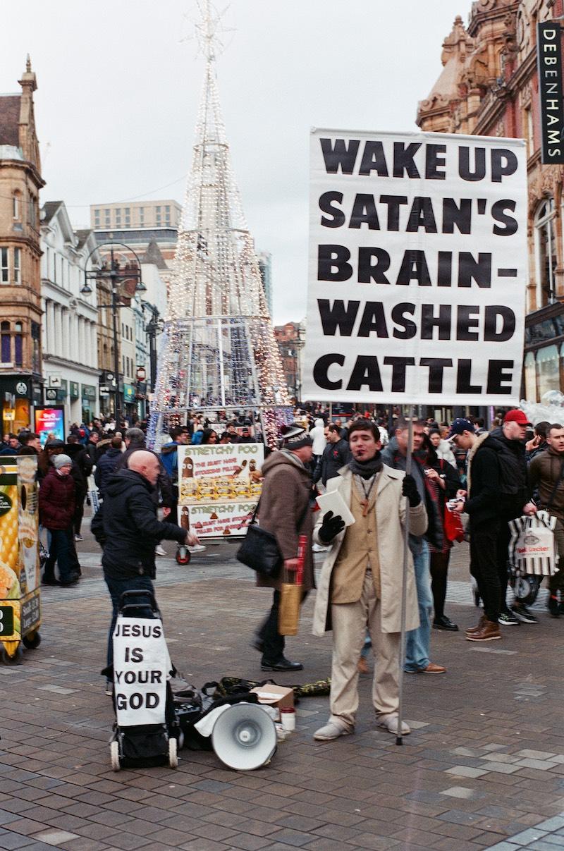 wake up satan's brainwashed cattle