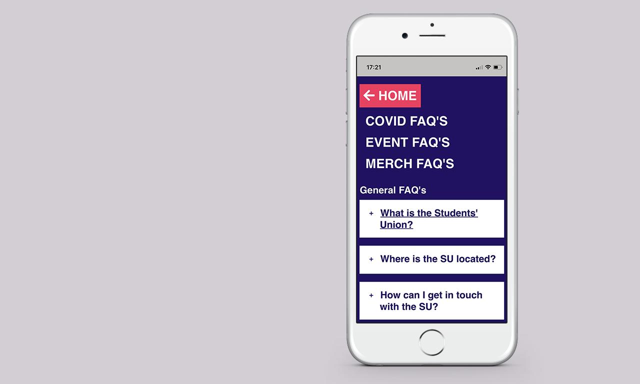 FAQ's on an iPhone
